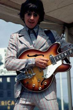 George Harrison (Crosley field 1966 tour)