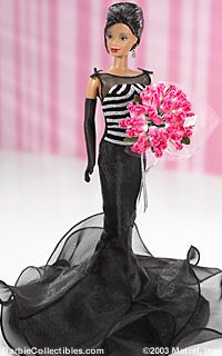 40th Anniversary Barbie® Doll remove the ruffle at the bottom of dress