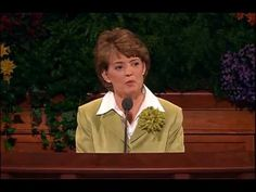 ▶ The Sanctity of the Body - Susan W. Tanner - October 2005 General Conference - YouTube