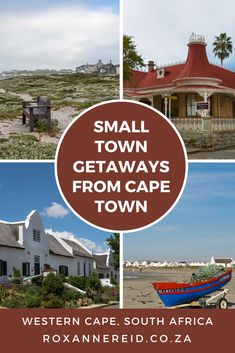 Looking for small towns for weekend getaways from Cape Town? Discover 20 of the best in the Cape Winelands, Garden Route, Karoo, Overberg and West Coast. Find out what makes each small town special and what you can do there. They include Franschhoek, McGregor, Tulbagh, Wilderness, Barrydale, Matjiesfontein, Prince Albert, Greyton, Hermanus, Stanford, Swellendam, Paternoster, Yzerfontein and Riebeek Kasteel and seven more small towns for weekend getaways in the Western Cape  - Roxanne Reid Victorian Buildings, Old Buildings, African Vacation, Go Hiking, Paragliding, Prince Albert, Whale Watching, Africa Travel, Travel Couple