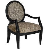 Found it at Wayfair - Powell Classic Seating Leopard Fabric Arm Chair