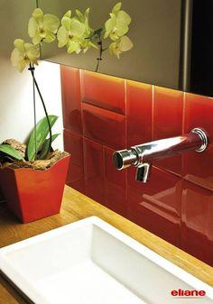 COZINHA - parede - R$40/m²-R$50/m² /  Decortiles | Mind The Gap OU Eliane | Metro = a idéia é criar uma paginação a partir de 4 tons. sugestão: azul, roxo, oliva e verde-limão.