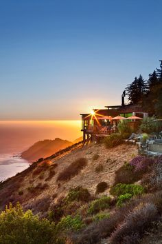 Stunning cliff-side resort: Post Ranch Inn, Big Sur.