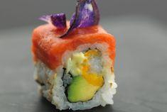 Joël Robuchon x Sushi ShopSpicy  Ebi Roll : crevette tempura, thon épicé et sauce yuzu kosho