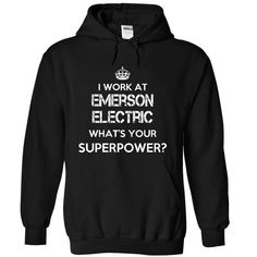 Work at Emerson Electric superpower Tee