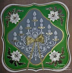 Marianne Designs Vellum Candlabra Card