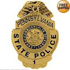 Pennsylvania State Police Badge