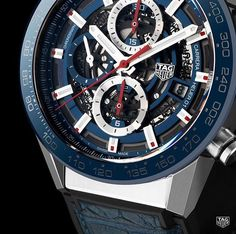 89df6ee9498  BaselWorld2017  TAGHeuer O TAG Heuer Skeleton Manufacture Chronograph