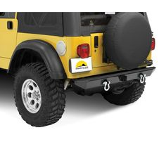 "HighRock 4x4 Rear Bumper with 2"" receiver hitch/roller mounts"