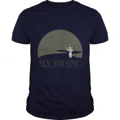 Awesome Fishing Lovers Tee Shirts Gift for you or your family member and your friend:  Fly fisherman 1 fly fishing design Tee Shirts T-Shirts