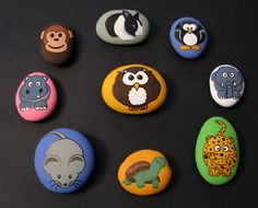 More adorable painted stones