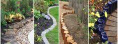 diy edge garden ideas