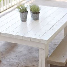 Outdoor Children's Table