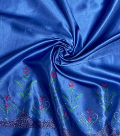 "Disney® Frozen Satin Fabric 58""-Anna Light Blue"