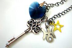 Sailor Uranus Henshin Transformation Wand Necklace. $20.00, via Etsy.