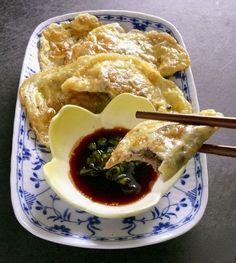 egg-wrapper dumplings