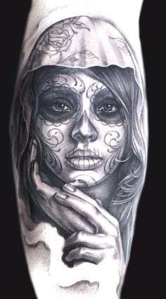 27 Best Tattoo images in 2018 | Sugar skull tattoos, Tattoo