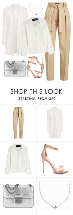 """""""Untitled #607"""" by alibasicamina ❤ liked on Polyvore featuring Polo Ralph Lauren, Brandon Maxwell, Michael Kors and Minnie Grace"""