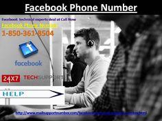 Dial Facebook Phone Number 1-850-361-8504 to make Facebook share get