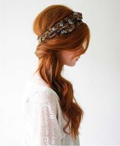 Image result for 60s hair flower crown