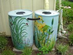 How To Collect Rainwater – Detailed Instructions on Plumbing Your Storage Barrels Together, Connecting to the Roof, and More.