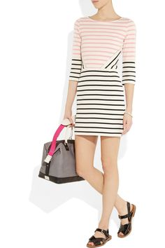 Markus Lupfer|charlotte striped cotton dress|perfect summer outfit!