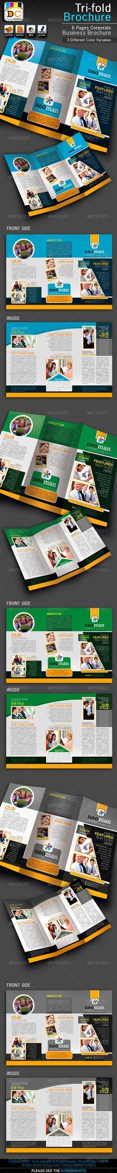 NeoMan Tri-fold Corporate Business Brochure