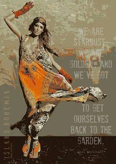 Style minus pattern Boho Rocker Fashion - Elisa Sednaoui for D la Repubblica Hippie Style, Gypsy Style, Bohemian Style, Style Me, Hippie Chick, Hippie Bohemian, Boho Gypsy, Gypsy Hair, Hippie Elegante