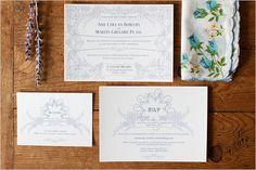 casamento do vintage inspirado convida