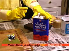 How to paint cabinets correctly