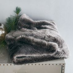 Thinkin' about making this faux fur throw mine for my new room decor! I mean ... it's $25 off right now!