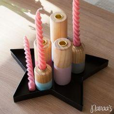 Dipped kaarsenhouders set van 5 #candleholder #kaarsenhouder #set #presenttime http://www.nanaas.nl/a-37668780/nieuw/dipped-kaarsenhouders-set-van-5/