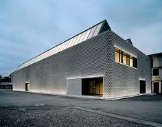 Noppenhalle | Männedorf, Switzerland | Baier Bischofberger Architects | photo by Roger Frei Architekturfotografie