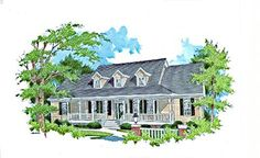 Southern House Plan ID: chp-18452 - COOLhouseplans.com
