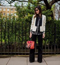 Look do dia: Alfaiataria em Londres por Camila Coutinho em março 12, 2014