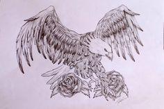 Tattoo Finka eagle