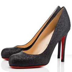 Christian Louboutin  Simple 100mm Pumps Black0 dokuz limited offer,no taxes and free shipping.#shoes #womenstyle #heels #womenheels #womenshoes  #fashionheels #redheels #louboutin #louboutinheels #christanlouboutinshoes #louboutinworld