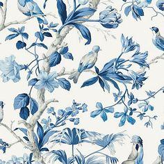 Scalamandre Belize Porcelain Wallpaper - Scalamandre Belize Porcelain Wallpaper / BELIZE / PORCELAIN