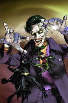Batman and Joker.
