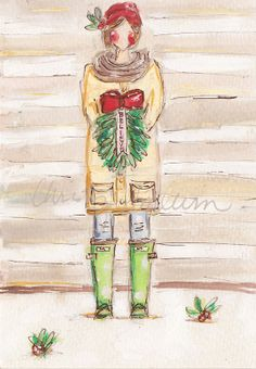 Believe Boot Series { Print or Cards } by Christy Tomlinson {you choose size}