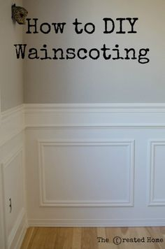 Fantastic Ideas Can Change Your Life: Black Wainscoting Board And Batten wainscoting board and batten basements.Wainscoting Board And Batten Basements classic wainscoting staircases. Diy Dining Room, Diy Wainscoting Dining Room, Wainscoting Panels, Diy Wainscoting, Room Diy, Dining Room Remodel, Wainscoting Wall, Home Decor, Hallway Decorating