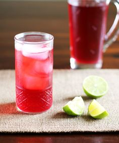 At taco trucks, my drink of choice is always jamaica, that bright red brew that is a little tart, a little sweet and totally refreshing on a hot day