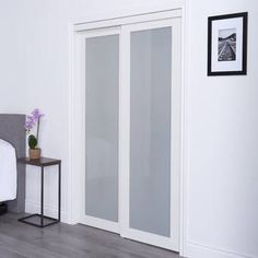 Shop Renin x Modern European Bi-Fold Closet Door 1 Frosted Glass Lite at Lowe's Canada. Find our selection of interior & closet doors at the lowest price guaranteed with price match.