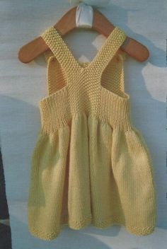 Baby Clothes: Dress and Cardigan Sweater by BbKnitsbyGitte on Etsy