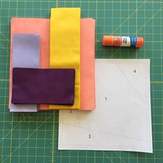 Print Panache QAL Week 2 & glue basting! – fabric, ink.