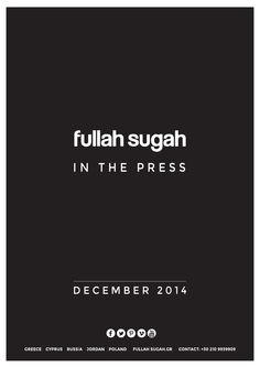 Fullah Sugah in the Press December 2014  Fullah Sugah in the Press - December 2014