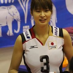 See more images and photos by ダグザマックール Female Volleyball Players, Women Volleyball, Volleyball Team, Beautiful Japanese Girl, Sporty Girls, Sports Stars, Athletic Women, Female Athletes, Sports Women