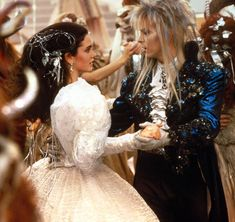 my 7yo daughter was obsessed w Labyrinth and asked for dolls but none available. this scene is one of her favorites