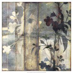 Non-Embellished Lace & Light III Giclee Print by Jennifer Goldberger at Art.com