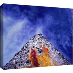 Dean Uhlinger Edge Of Reason Gallery-Wrapped Canvas, Size: 36 x 48, Yellow